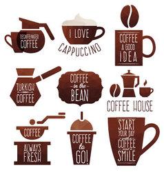 Coffee good idea vector