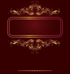 Elegant Border frame vector image
