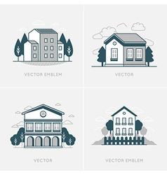 Graphic design and logo design template vector