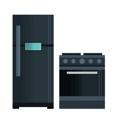 Home appliances tech icon vector