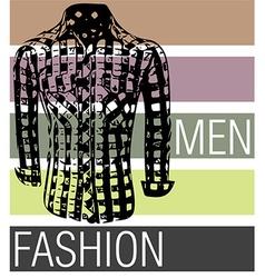 Men fashion shirts vector