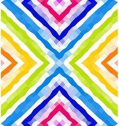 Seamless geometric pattern Colorful polygonal vector image