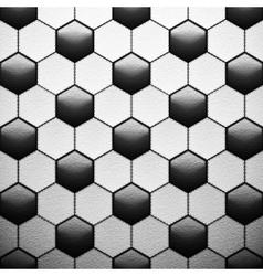 texture soccer ball vector image