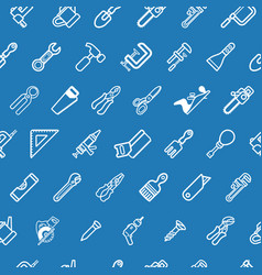 Tileable tools background texture vector