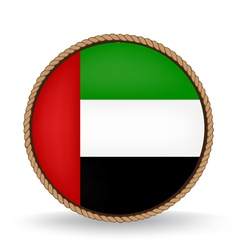 United Arab Emirates Seal vector image