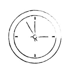 wall clock icon image vector image