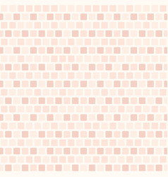 pastel rose rounded square pattern seamless vector image vector image