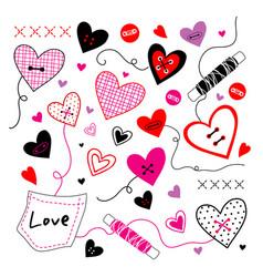 love valentine sweetheart vector image vector image