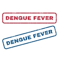 Dengue Fever Rubber Stamps vector image vector image