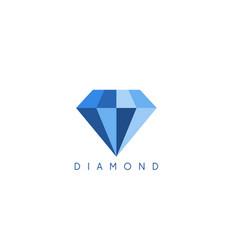 abstract icon design template diamond vector image