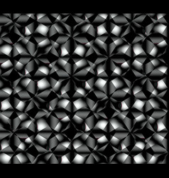 Abstract seamless pattern simulating complex vector