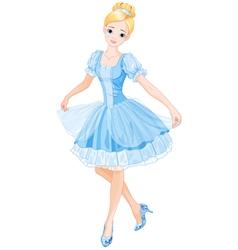 Cinderella vector image