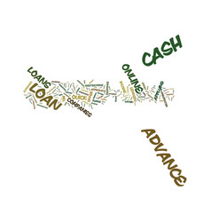 emergency fast cash advance confidential and vector image