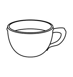 Single mug icon image vector
