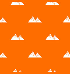 Swiss alps pattern seamless vector