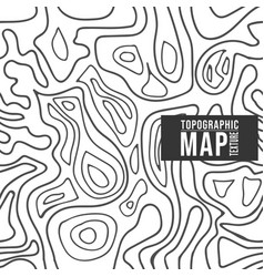Topographic map pattern seamless background with vector