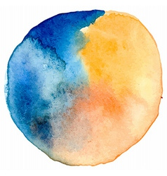 watercolor spot vector image