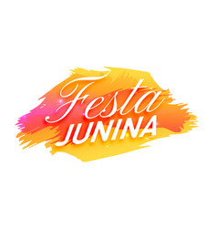 Clean festa junina holiday background vector