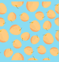 Colorful fruit seamless pattern vector
