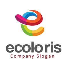 Ecoloris Design vector image