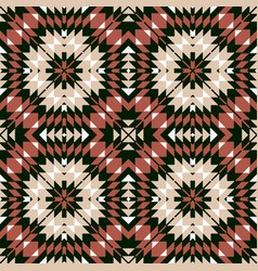 ethnic seamless geometric pattern vector image