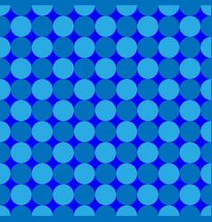 Polka dot geometric seamless pattern 7708 vector