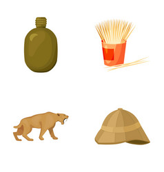 recreation natural science and other web icon in vector image