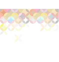 rosettes modern abstract background vector image
