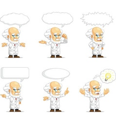 Scientist or Professor Customizable Mascot 15 vector