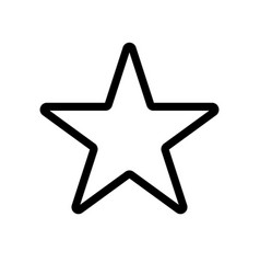star icon star icon rating symbol vector image