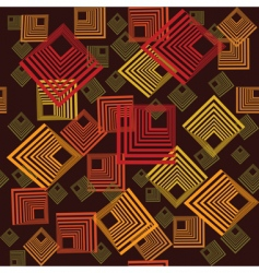 abstract squares pattern vector image vector image