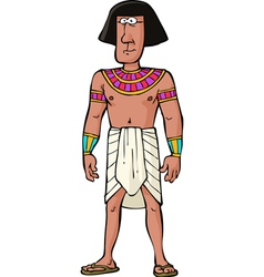 ancient egyptian citizen vector image
