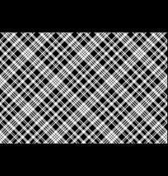 abstarct check pixel seamless pattern black white vector image