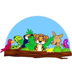 Baby animals vector
