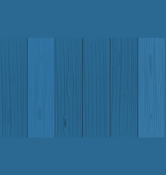 blue wood planks texture vector image