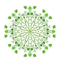 Circle ornament vector