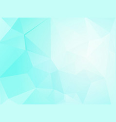 ice geometric mosaic background vector image