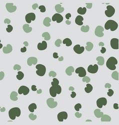 Lily pad repeat pattern print background vector