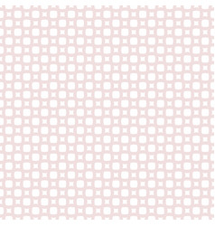 squares circles crosses geometric lace pattern vector image