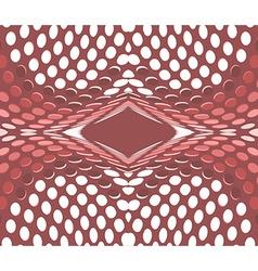 Fractal Geometric halftone vector image