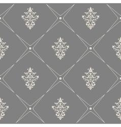 Baroque modern wallpaper vector image