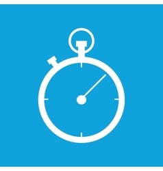 Stopwatch icon 2 simple vector image