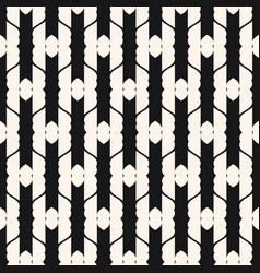 Abstract geometric seamless mesh retro art pattern vector