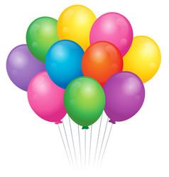 balloons theme image 2 vector image
