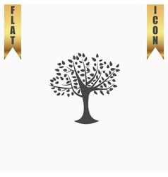 Decorative simple tree vector