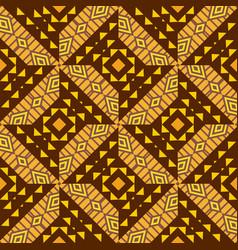 geometrical ornamental pattern vector image vector image