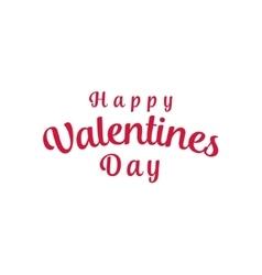 Happy Valentines Day Background Design vector image