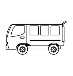 Van vehicle icon vector