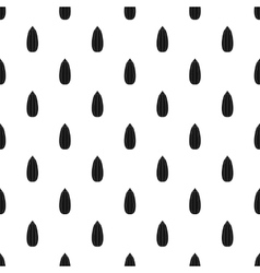 Zucchini pattern simple style vector