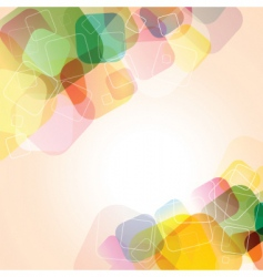 abstract colours vector image vector image